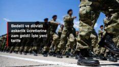 Türkiye'de Bedelli ve dövizli askerlik ücretlerine zam geldi