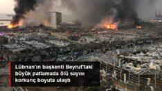 Lübnan'ın başkenti Beyrut'ta büyük patlama: 70 kişi hayatını kaybetti, 3700 yaralı var