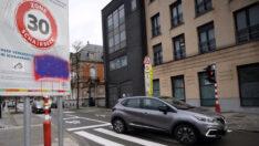 Brüksel'de Hiz siniri 30 kilometreye düsürüldü..