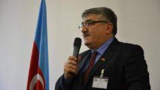 Azerbaycan Diaspora Bakanı'ndan, Emirdağlı gurbetçi Recep Tuncer Sarı'ya teşekkürname belgesi takdimi
