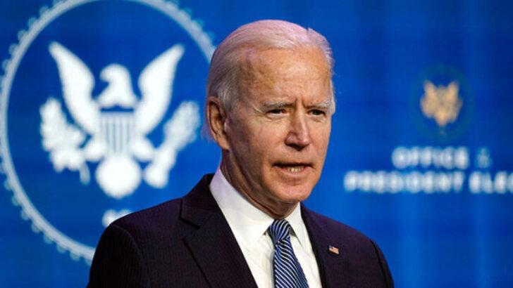 ABD'deki Kongre baskını olayları… Seçilmiş Başkan Biden'dan çok sert ifadeler