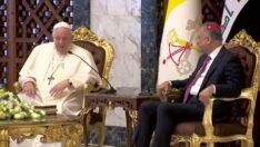 Papa Francis'in tarihi Irak ziyareti başladı