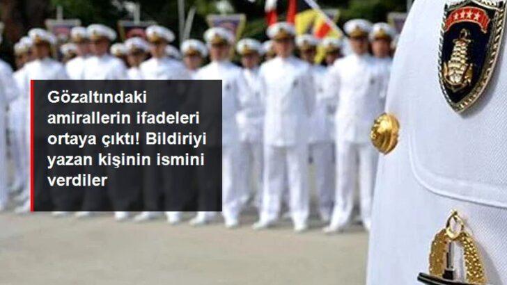 Gözaltındaki amirallerin ifadeleri ortaya çıktı: Montrö bildirisini hazırlayan İYİ Parti kurucusu Ergun Mengi
