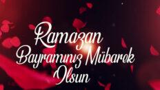 Ramazan Bayramınız kutlu olsun…