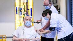 Belçika'da koronavirüse (Kovid-19) aşını 20 günde yaklaşık 50 bin kişi aşılandı