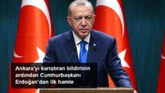Ankara'yi karistiran bildirinin ardindan Cumhurbaşkanı Erdoğan ilk hamle..