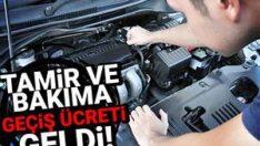 Türkiye'ye Yurt dışından bakım ve tamire gelen otomobil sahipleri dikkat..